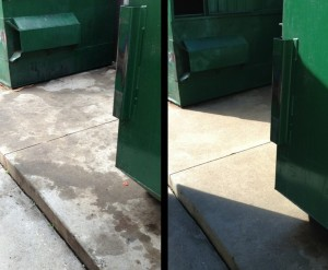 atlanta dumpster pad cleaning
