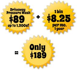 $89 Pressure Wash Atlanta, GA