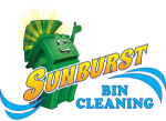 Sunburst Bin Cleaning Sticky Logo Retina